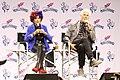 Patricia Quinn & Barry Bostwick RHPS Q&A at Galaxycon Richmond 2019 01.jpg