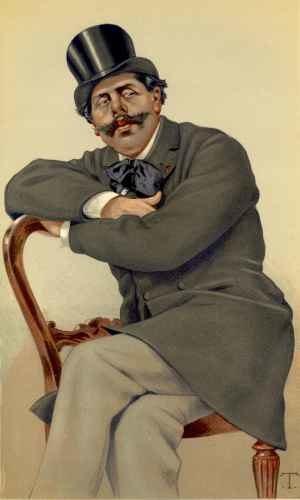 Paul Adolphe Marie Prosper Granier de Cassagnac - Painting of Cassagnac by Chartran, 1879