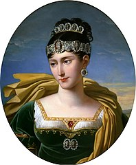 Portrait de Pauline, princesse Borghèse