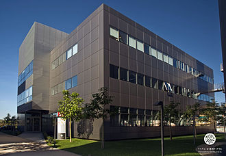 University of Valencia Science Park - Building 3.CUE University Enterprise Centre of the University of Valencia Science Park business area