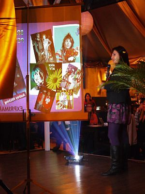PechaKucha -  Speaker at a PechaKucha Night event in Cluj-Napoca, Romania
