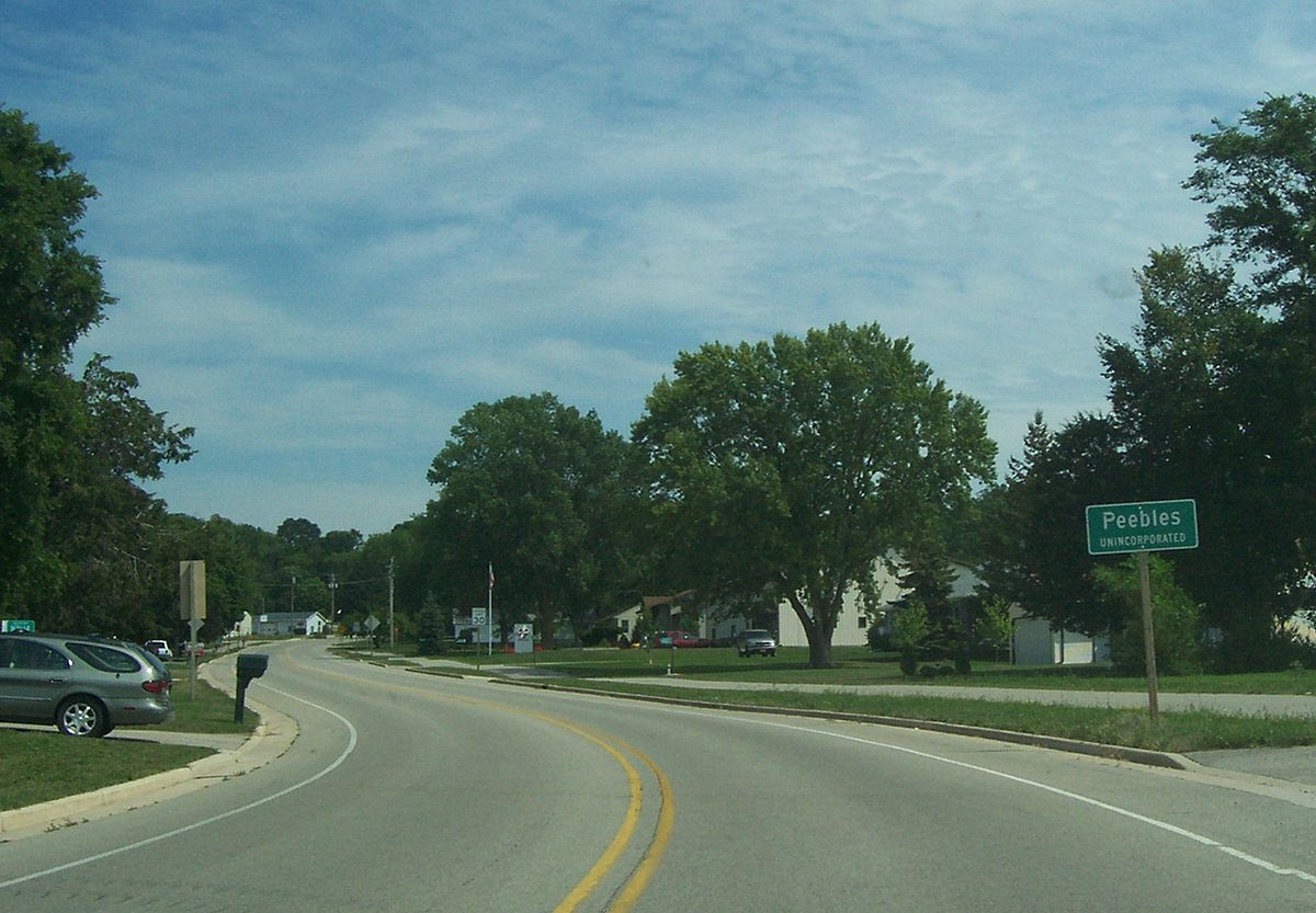 Fond Du Lac Wi >> Peebles, Wisconsin - Wikipedia