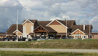 Pellston, Michigan - Image: Pellston Michigan Airport Terminal