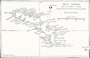 "Bay of Isles - Pendleton's map lists it as the ""Bay of Island"""
