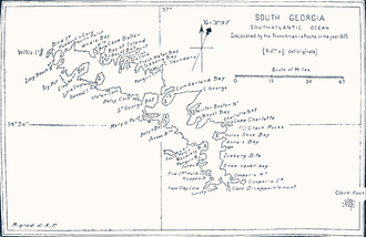 """Bay of Isles - Pendleton's map lists it as the """"Bay of Island"""""""