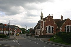 Pennington, The Square - geograph.org.uk - 516062.jpg