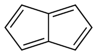 Skeletal formula of pentalene