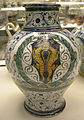 Pesaro, orcio con stemma, 1480-1500 ca. 01.JPG