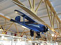 Petőfi Csarnok, Repüléstörténeti kiállítás, Beechcraft Staggerwing modellje.JPG