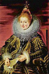 Isabella Clara Eugenia, wife of Albrecht VII