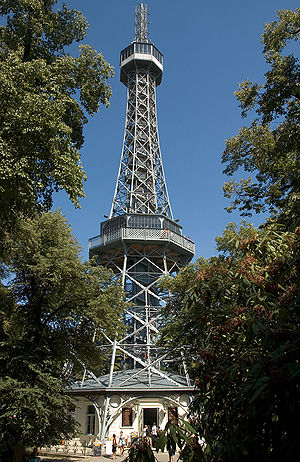 General Land Centennial Exhibition (1891) - Petřín Tower