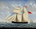 Petrus Cornelis Weyts - 'Irene' of Goole, with Captain Thomas Alsop, Passing Flushing ERY HUMM 2007 1039.jpg