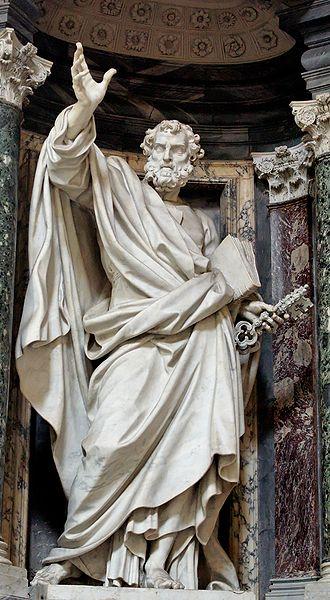 Pierre-Étienne Monnot - St. Peter, Basilica of St. John Lateran