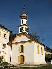 Pfarrhofkapelle hl. Kreuz/Dechanthofkapelle