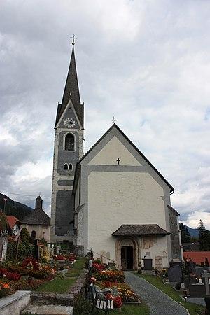 Berg im Drautal - Image: Pfarrkirche Berg 3