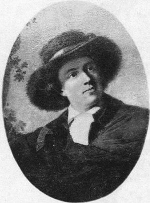 Philipp Friedrich von Hetsch - Presumed self-portrait (1787/90)