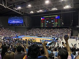 2023 FIBA Basketball World Cup - Image: Philippine Arena FIBA Philippines vs Australia