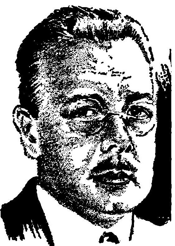 "Philip Francis Nowlan, as pictured in Science Wonder Stories, September 1929 (as ""Frank Phillips"")"