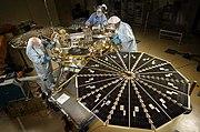 Phoenix Mars Lander in testing PIA01885