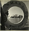 Photograph depicting a life buoy of HMAS Wyatt Earp. (27935260369).jpg