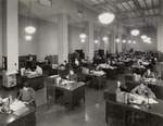 Photograph of the Division of Classification and Cataloging, 1937.tif