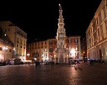 Photographie de la Piazza del Gesù