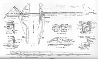 Pickwick Landing Dam - The original design plan for Pickwick Landing Dam, circa 1935