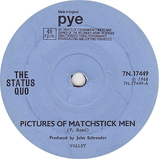 Pictures of Matchstick Men single