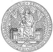 The royal seal of Casimir the Great