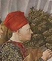 Piero de' Medici-Procession of the Youngest King by Benozzo Gozzoli-Cappella dei Magi-Palazzo Medici Riccardi-Florence.jpg