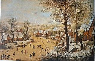 Winter Landscape with Bird Trap