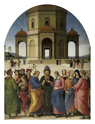 Marriage of the Virgin (Perugino) - Image: Pietro Perugino cat 66