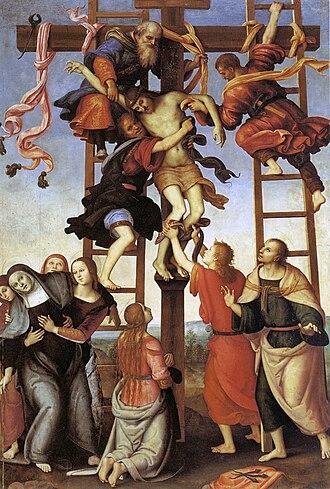 Annunziata Polyptych - Image: Pietro Perugino cat 74a