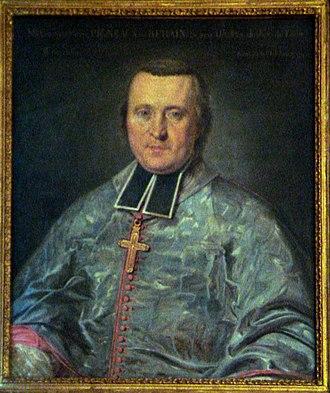Pierre Pigneau de Behaine - The 1787 painting of Pigneau de Behaine by Maupérin is visible at the Paris Foreign Missions Society