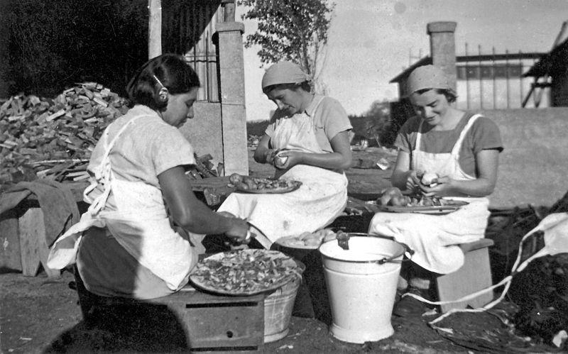 גן-שמואל-במטבח 1937