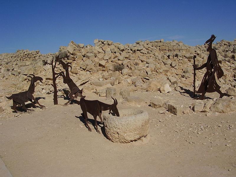 עזים בעבדת
