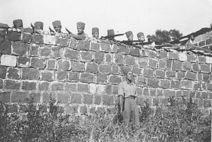 Special Night Squads - Members of the Special Night Squads, possibly in Kfar Tavor.