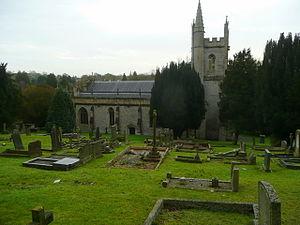Pilton, Somerset - Image: Pilton church