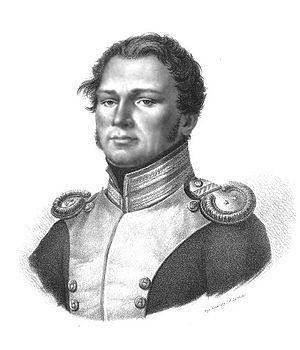 Piotr Wysocki - Piotr Wysocki; portrait by Jan Nepomucen Żyliński (1790-1838)