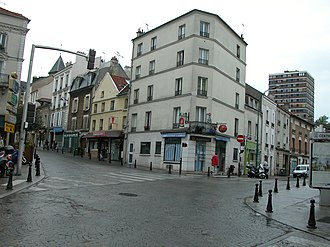 Fontenay-sous-Bois - Image: Place General Leclerc Fontenay