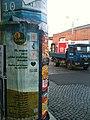 Plakate am Laternenmast, Dresden - panoramio.jpg