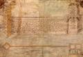 Plano en alzado del muro de las argollas 1615 - Veracruz, Veracruz. México.png