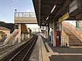 Platform of Kajikuri-Godaichi Station 2.jpg