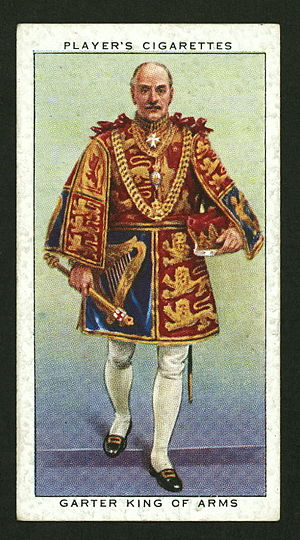 Gerald Wollaston - Sir Gerald Wollaston as Garter King of Arms at the coronation of George VI in 1937.