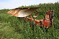 Plough on the edge of the field. - geograph.org.uk - 185171.jpg