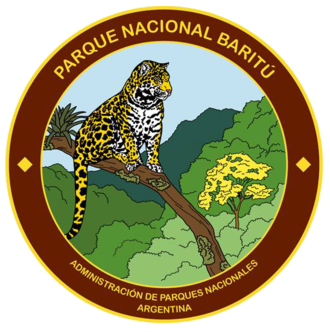 Baritú National Park - Logo of the national park featuring the jaguar