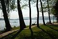Poertschach Halbinselpromenade Blick auf Maria Woerth 22042007 19.jpg