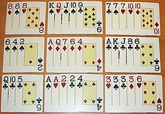 Chinese poker - Wikipedia