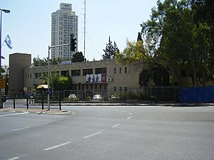 Dov Gruner - The Ramat Gan Police station
