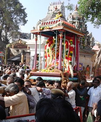 Pollachi - Car Festival at Subramanya Temple, Pollachi